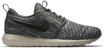 Nike Roshe Run Flyknit Wolf Grey Wolf Grey/Sequoia-River Rock 677243-007