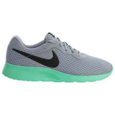 Nike Tanjun Wolf Grey/Black/Green Glow Wolf Grey/Black/Green Glow 812654-003