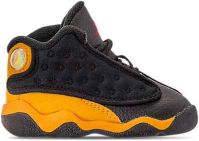 Jordan 13 Retro Carmelo Anthony Class Of 2002 (TD B-Grade) Black/University Red-University Gold 414581-035