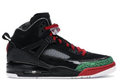 Jordan Spizike Black Varsity Red (2017) Black/Varsity Red-Classic-Green-White 315371-026