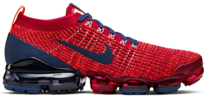 Nike Air VaporMax Flyknit 3 Noble Red Blue Void Noble Red/Blue Void-Light Armory Blue AJ6900-600