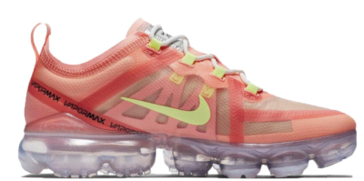 Nike Air VaporMax 2019 Pink Tint Barely Volt (W) Pink Tint/Light Cream-Summit White-Barely Volt AR6632-602