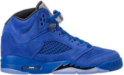 Jordan 5 Retro Blue Suede (GS) Game Royal/Black 440888-401