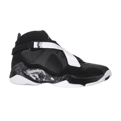 Jordan Air Jordan 8.0 Black White Black/Dark Charcoal/White 467807-001