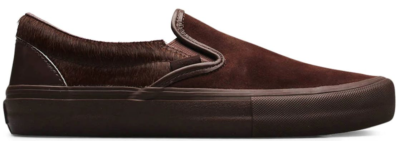 Vans Slip-On Engineered Garments Mismatched Cow Hair Brown Brown/Multi VN0A3QXYTFS