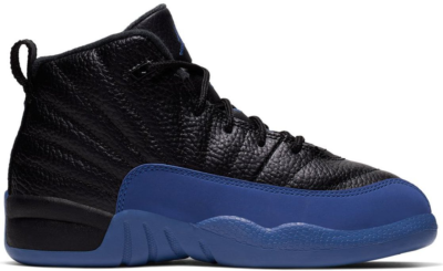 Jordan 12 Retro Black Game Royal (PS) Black/Game Royal-Black 151186-014