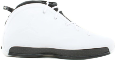 Jordan 18.5 OG White Black Chrome White/Black – Chrome 306890-101