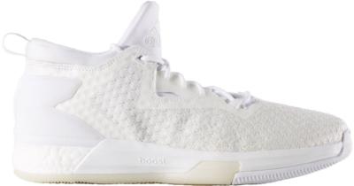 adidas D Lillard 2 Boost Primeknit Triple White White/White/White AQ7994