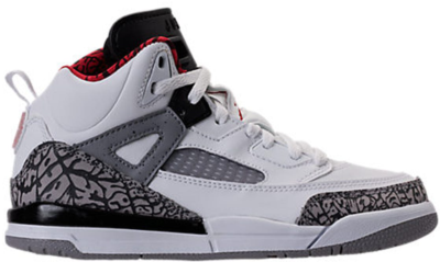 Jordan Spizike White Cement 2017 (PS) White/Varsity Red-Cement Grey-Black-Dark Grey 317700-122