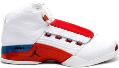 Jordan 17 OG White Varsity Red White/Varsity Red-Charcoal 302720-161