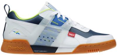 Reebok Workout Plus Altered White Navy White/Collegiate Navy-Neon Lime DV5244