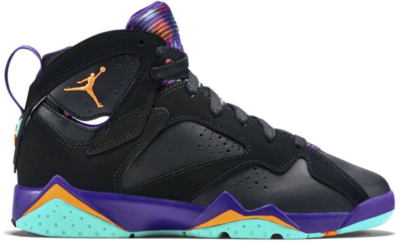 Jordan 7 Retro Lola Bunny (GS) Black/Bright Citrus-Court Purple-Light Retro 705417-029