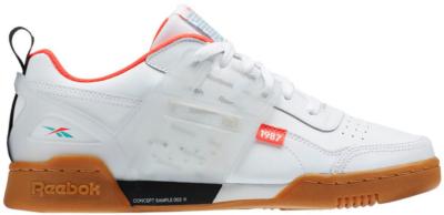 Reebok Workout Plus Altered White Black Red Mist DV5243
