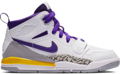 Jordan Legacy 312 Lakers (PS) White/Field Purple-Amarillo AT4047-157