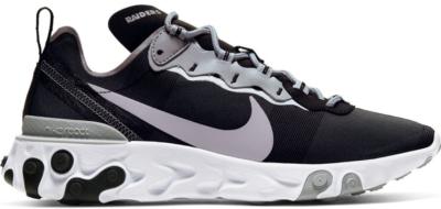 Nike React Element 55 Oakland Raiders Black/White-Field Silver CK4803-001