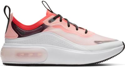 Nike Air Max Dia Flash Crimson (W) Off White/Black-White-Flash Crimson AV4146-100