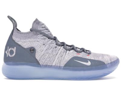 Nike KD 11 Cool Grey Cool Grey/Wolf Grey-Pure Platinum AO2604-002