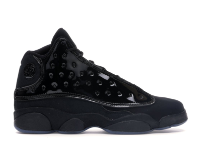 Jordan 13 Retro Cap and Gown (GS) Black/Black 884129-012