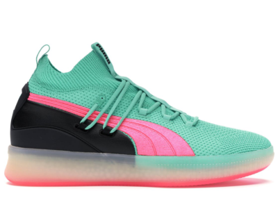 Puma Clyde Court Disrupt South Beach Biscay Green/Pink-Puma Black 191715-01