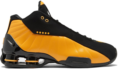 Nike Shox BB4 Black University Gold Black/University Gold AT7843-002