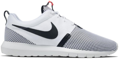Nike Roshe Run Breeze White Black White/White-Black-Hot Lava 644425-100