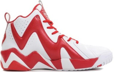 "Reebok Kamikaze II Sneakersnstuff ""Polkagris"" White/Red V48561"