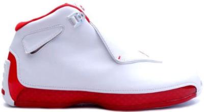 Jordan 18 OG White Red 305869-161