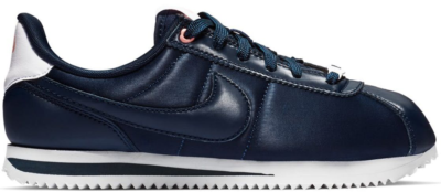 Nike Cortez Basic Valentines Day 2019 Obsidian (GS) Obsidian/Obsidian-White-Bleached Coral AV3519-400