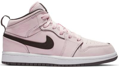 Jordan 1 Mid Pink Foam (PS) Pink Foam/Black-White-Anthracite 640737-601