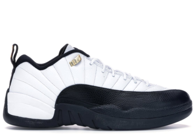 Jordan 12 Retro Low Taxi (2011) White/Black-Taxi 308317-104