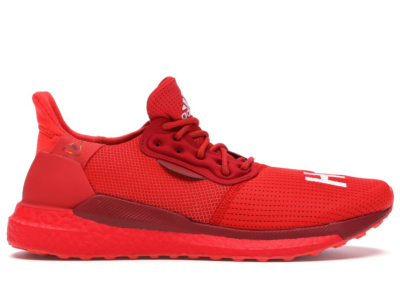 "adidas Solar Hu PRD Pharrell ""Now is Her Time"" Pack Red Red/Red/Red EF2381"