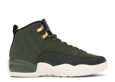 Jordan 12 Retro Chris Paul Class Of 2003 (GS) Olive Canvas/Black-Sail 153265-301