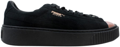 Puma Suede Platform Rose Gold  (W) Rose Gold/Puma Black 366382-01