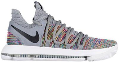 Nike KD 10 Multi-Color Multi-Color/Black-Cool Grey-White 897815-900