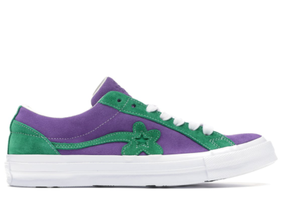 Converse One Star Ox Tyler the Creator Golf Le Fleur Purple Green Purple Heart/Jolly Green 162128C