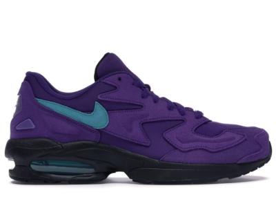 Nike Air Max2 Light Grape Court Purple/Spirit Teal-Black-White AO1741-500