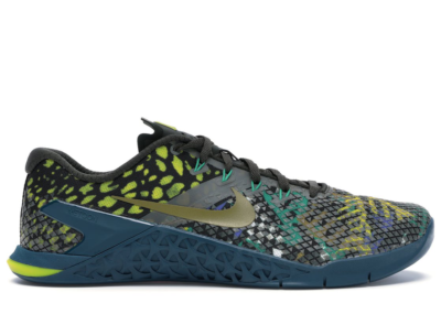 Nike Metcon 4 XD Multi-Color Snake Sequoia/Desert Moss-Nightshade-Laser Fuchsia-Lucid Green-Bright Citron BV1636-300