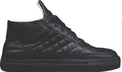 Filling Pieces Quilted RF-Mid Ronnie Fieg Black Black SS14