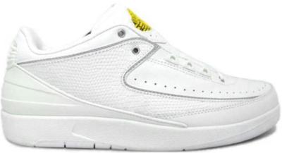 Jordan 2 Retro Low White Varsity Maize White/Metallic Silver-Varsity Maize 309837-102
