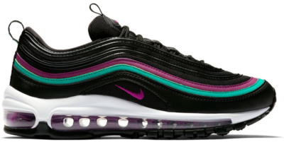 Nike Air Max 97 Black Grape (W) Black/Bright Grape-Clear Emerald 921733-008