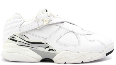 Jordan 8 Retro Low White Metallic Silver White/Metallic Silver 306157-101