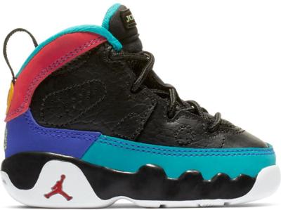 Jordan 9 Retro Dream It Do It (TD) Black/University Red-Dark Concord-Canyon Gold-Turbo Green-White 401812-065