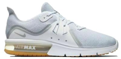 Nike Air Max Sequent 3 White Platinum White/Platinum/Gum 921694-101