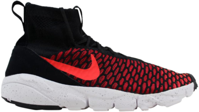 Nike Air Footscape Magista Flyknit Black/Bright Crimson-Gym Red-Cool Grey 816560-002