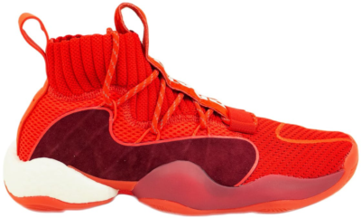 adidas Crazy BYW Pharrell x BBC Now Is Her Time Solar Red/Solar Red/Solar Red EG7731