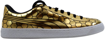 Puma Basket Classic Metallic Gold Gold 361102-01