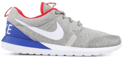 Nike Roshe Run SP Great Britain Grey Heather/White-University Red 652804-016