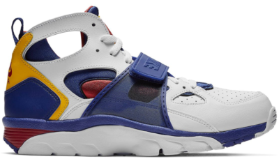 Nike Air Trainer Huarache White Regency Purple Amarillo 679083-107