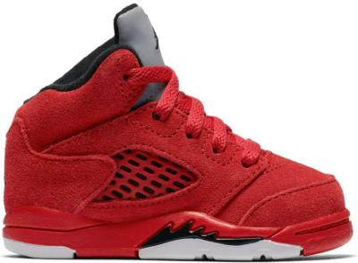Jordan 5 Retro Red Suede (TD) University Red/Black 440890-602