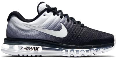 Nike Air Max 2017 Black White Black/White 849559-010